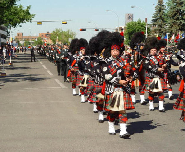 PPCLI Freedom of the City Parade