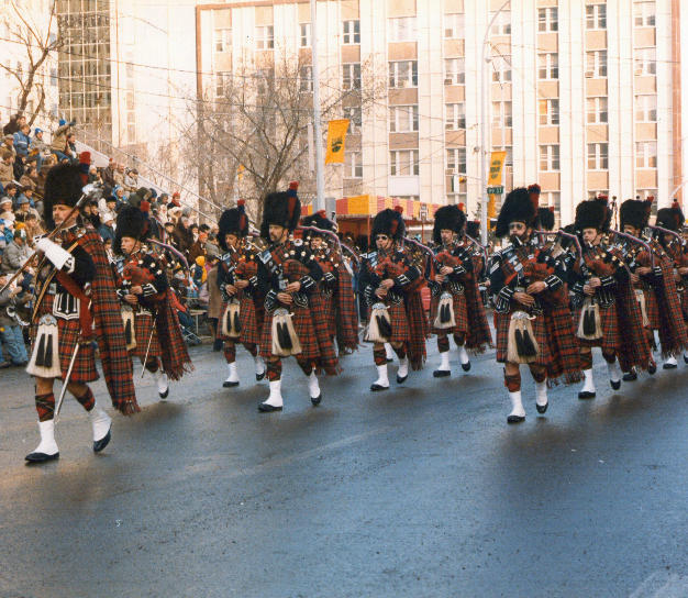 Klondike Days Parade 1984