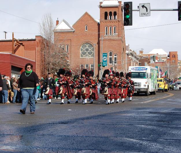 St. Patrick's Day Parade - Butte, Montana