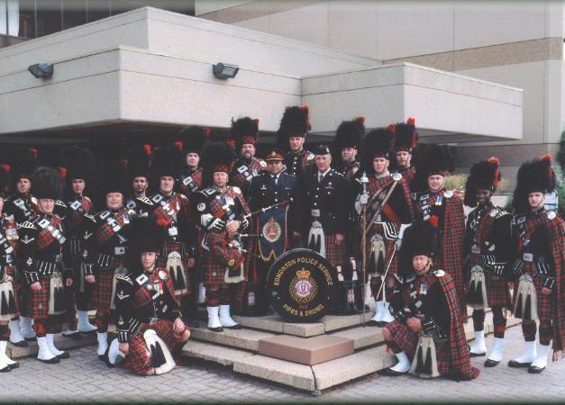 2005 K Days parade with D/Chief Darryl da Costa