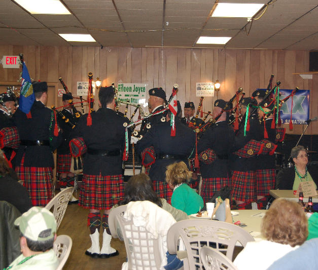 In 2008 the Pipes and Drums entertained seniors at the Crest Nursing Home, Evergreen Nursing Home, Butte Convalescent Nursing Home and the Big Sky Assisted Living.