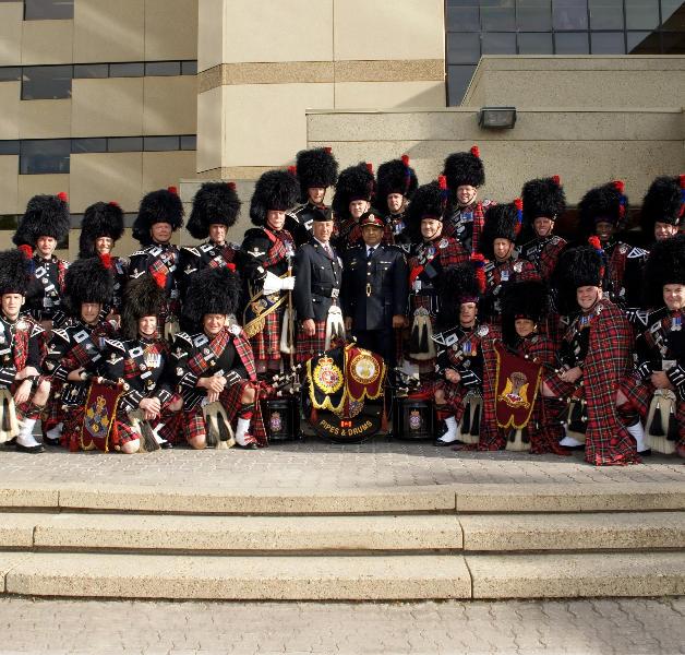 2009 Parade with Acting Chief Darryl daCosta