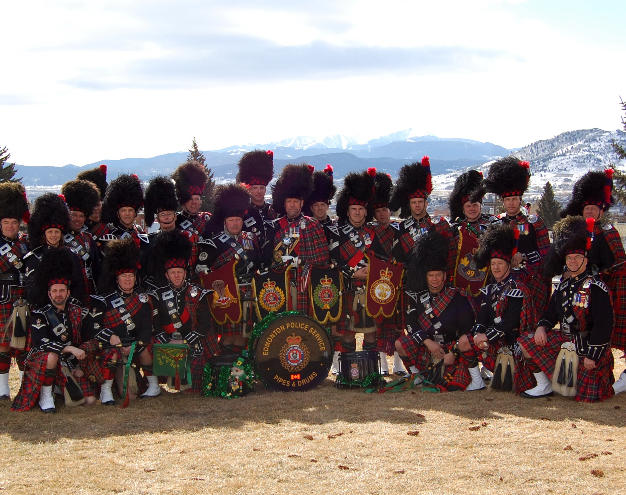 Group photo after the parade in 2008
