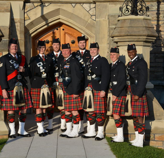 The Drummers of the EPS Pipe Band