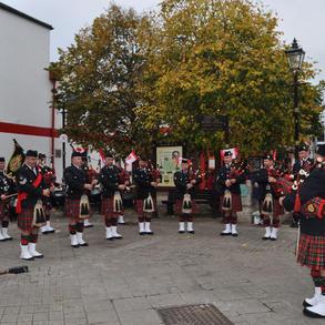 Playing in Enniskillen, County Fermanagh