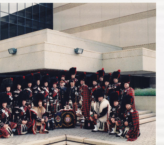 2004 Parade in front of EPS HQ with Chief Fred Rayner