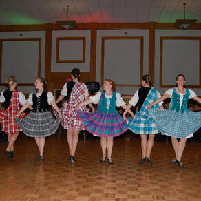The amazing highland dancers perform in 2007