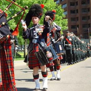 PPCLI Freedom of the City Parade