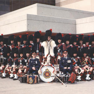Klondike Days Parade 1985 with Chief Lunney and D/C Rodger