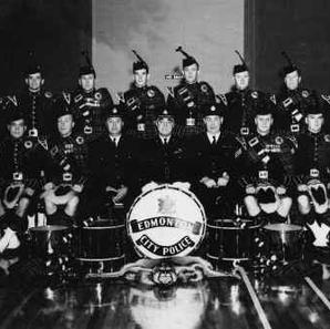 Early band photo in full uniform