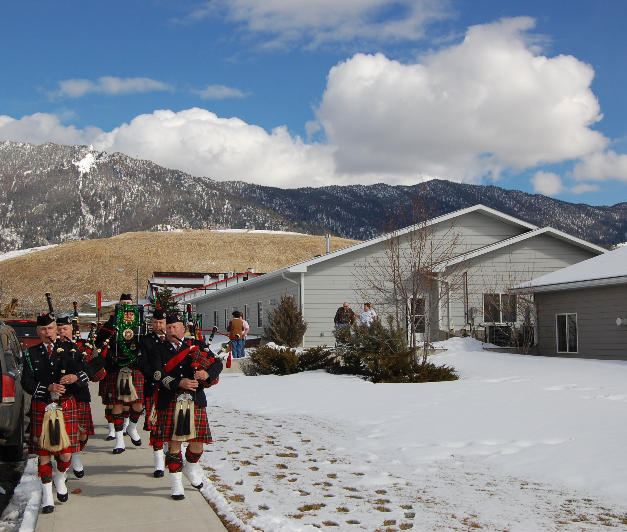 Mini Band Performance at the Butte Assisted Living