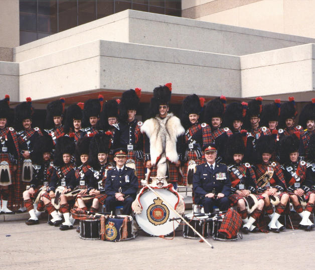 1984 with Chief Bob Lunney and Deputy Chief Jim Rodger