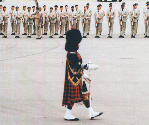 DM Bawn at PPCLI Anniversary in Calgary in 1975