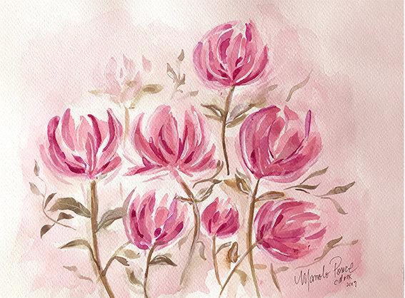 FLOWERS IN ROSES 2 / FLORES EN ROSAS 2