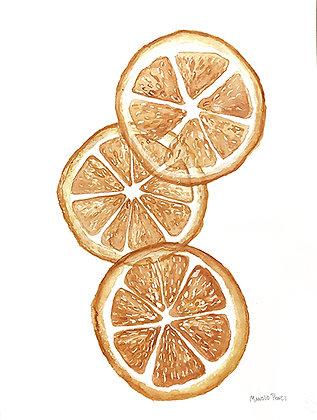 Sliced oranges / Naranjas en Rodajas