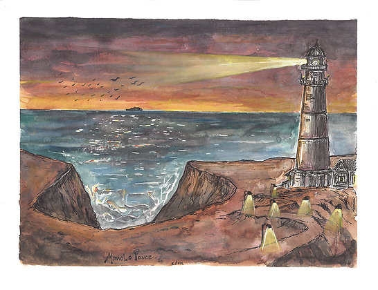 FARO ATARDECER /LIGHTHOUSE SUNSET