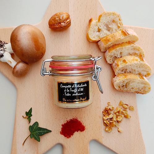 Compoté d'artichauts à la truffe d'été