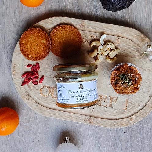 Pâté au foie de canard et figue (20% foie gras)