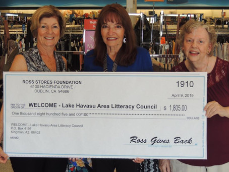 Ross Foundation Donation