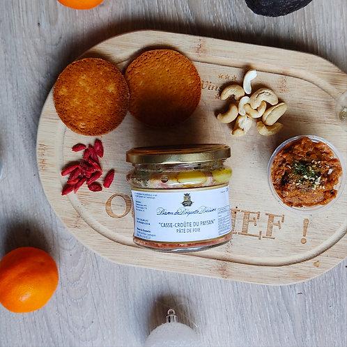 """Casse-croûte du paysan"" Pâté de foie"