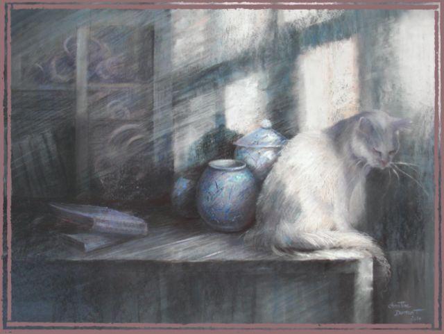 Le bleu du chat