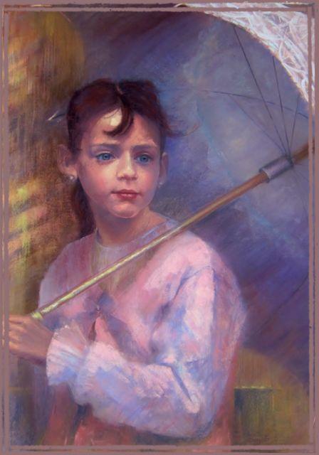 Manon à l'ombrelle