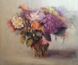 Bouquet à l'hortensia