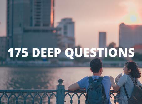 175 Deep Questions