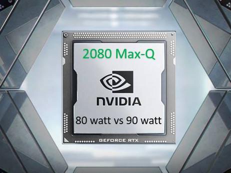 Comparison: 80w vs 90w RTX 2080 Max-Q