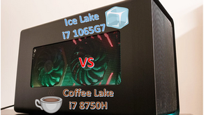 eGPU Performance Comparison: Intel Ice Lake vs Intel Coffee Lake