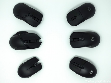 Review and Comparison: Viper Ultimate, Basilisk X, and Atheris vs G Pro Wireless, G703, and G305