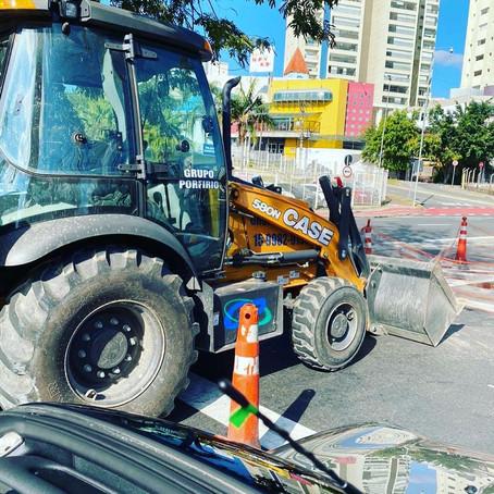 Obra BRT Sorocaba Sp