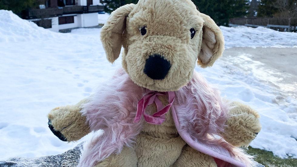 Pink Dream Faux Fur Coat