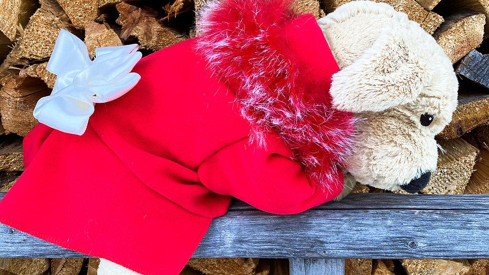 Princess Cashmere and Faux Fur Coat