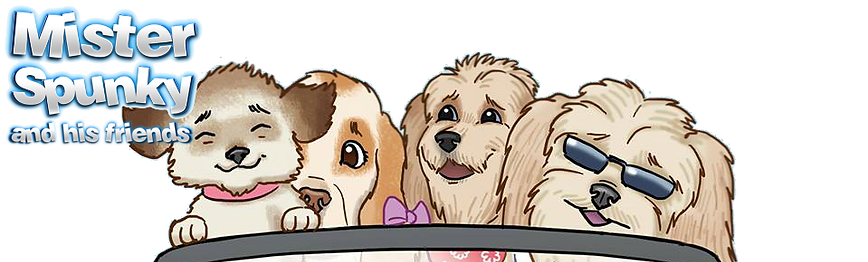 Award winning children's dog picture and activity book series