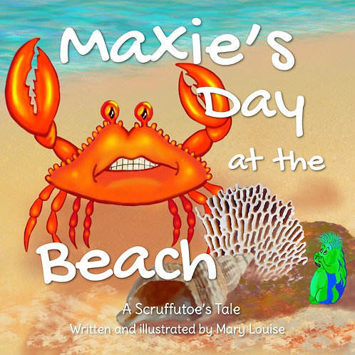 Maxie's day at the Beach