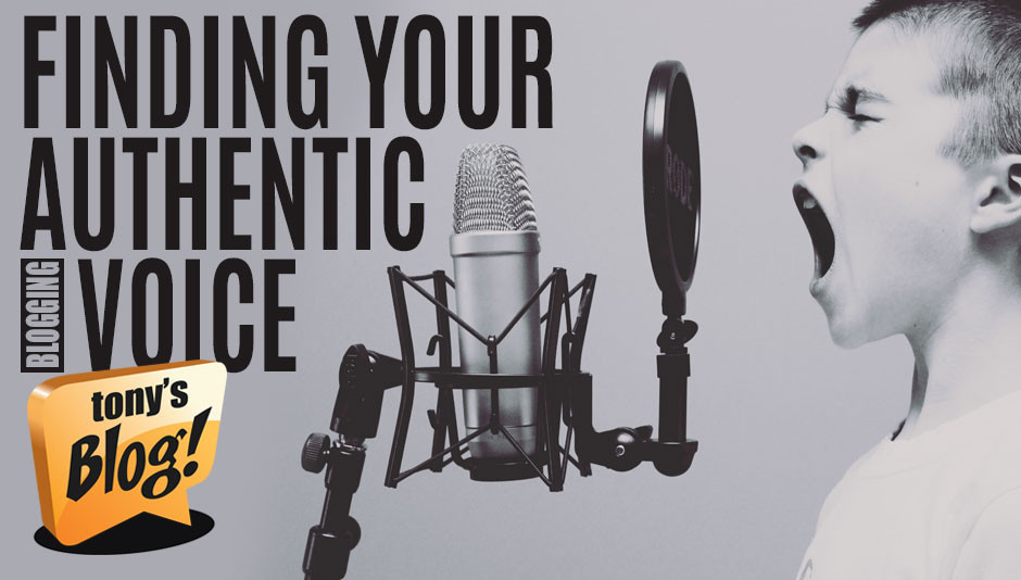 Find your authentic blogging voice