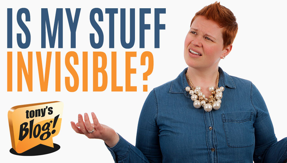 Is my stuff invisible? Why your site does not rank in search engines.