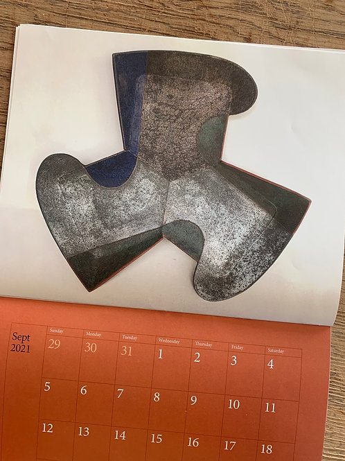 2021 Earthenware / Mark Pharis calendar