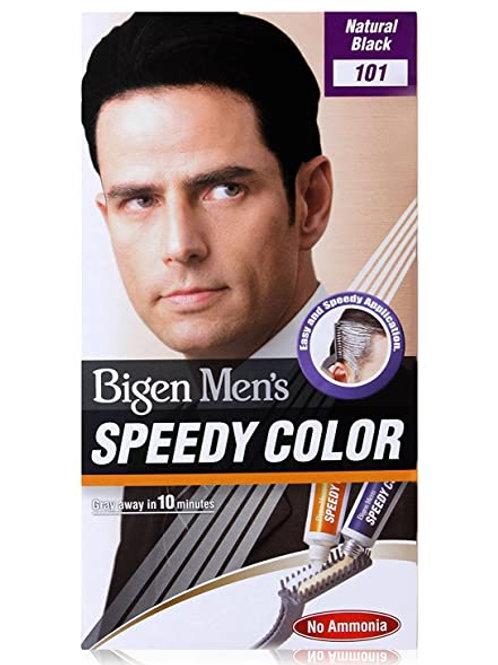 Bigen Men's Speedy (Natural Black)