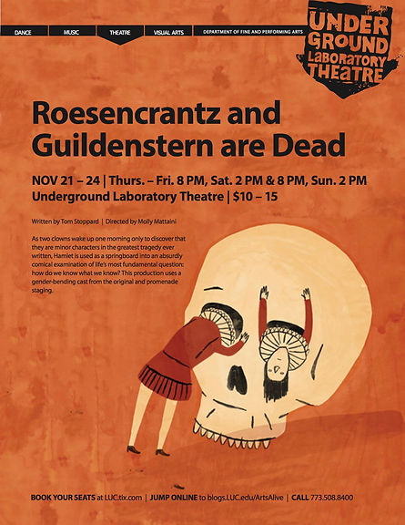 Poster of Rosencrantz and Guildenstern are Dead