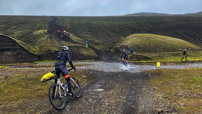 Iceland 2022: Lava field Gravel Ride