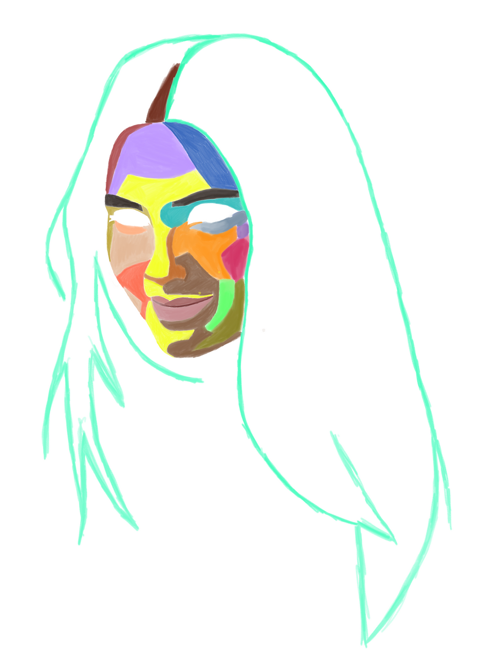 colorful mask