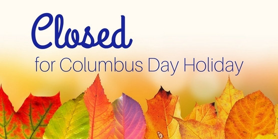 Office Closed: Monday, October 11, 2021