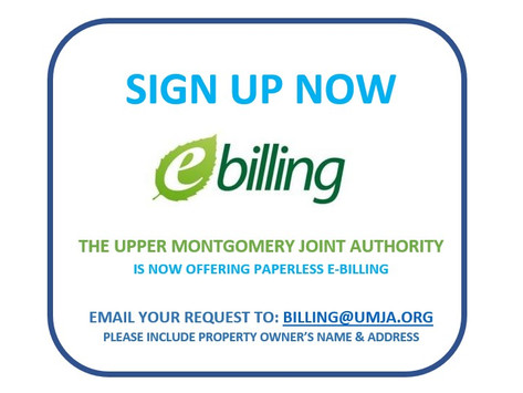NOW OFFERING EMAIL BILLING