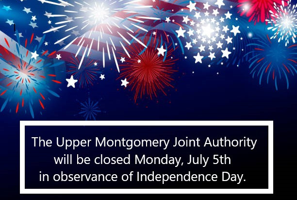 Office Closed Monday, July 5th