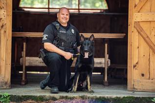 Officer Foser/K9 Hank