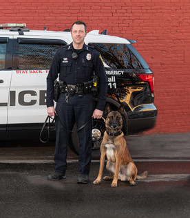 Officer Colburn/K-9 Duke