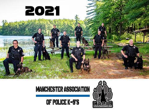 2021 M.A.P.K9 Calendar
