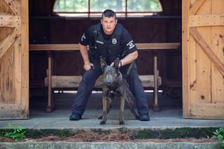 Sergeant Megowen/K9 Wiley